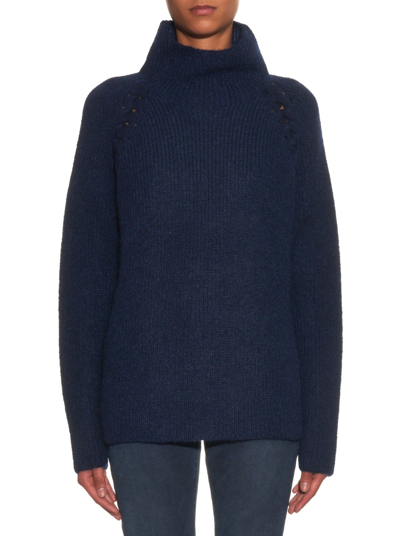 Dolby wool and mohair-blend sweater | Vanessa Bruno Athé | MATCHESFASHION.COM