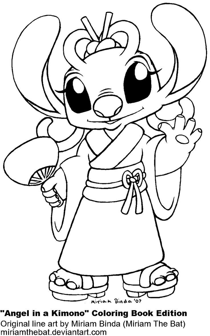 Billedresultat For Lilo And Stitch Experiments Coloring Pages