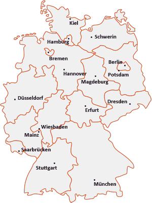 deutschlandkarte einfach Deutschlandkarte   Karte deutschland, Deutschlandkarte, Deutschland