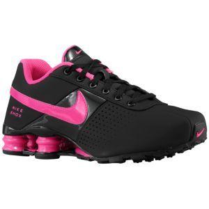 Tênis nike shox feminino nz preto rosa