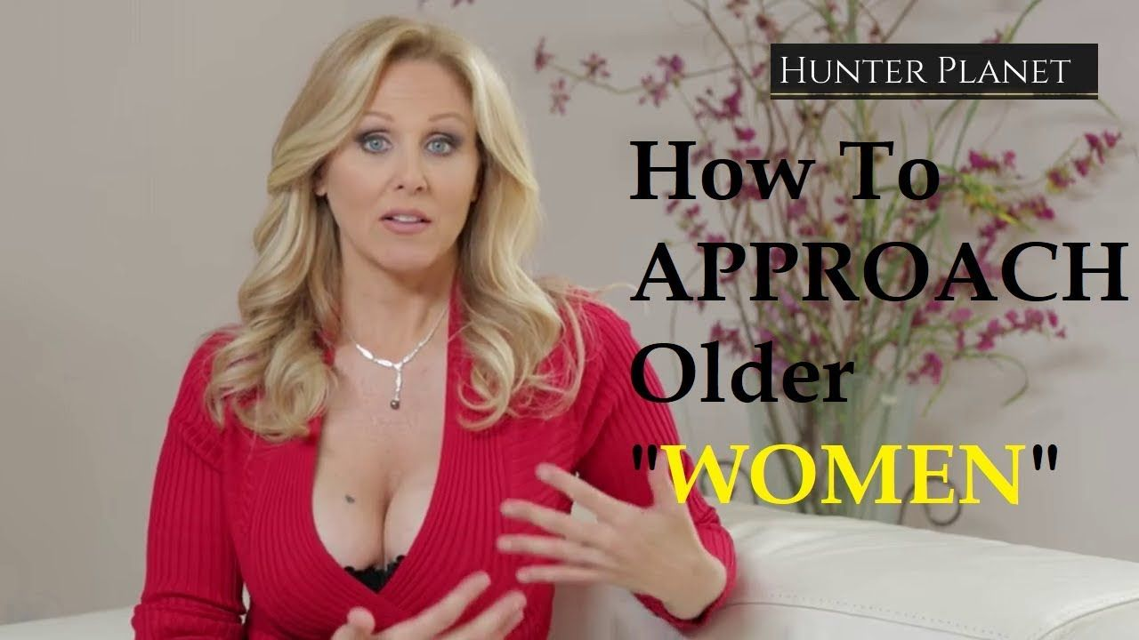 How to approach an older woman
