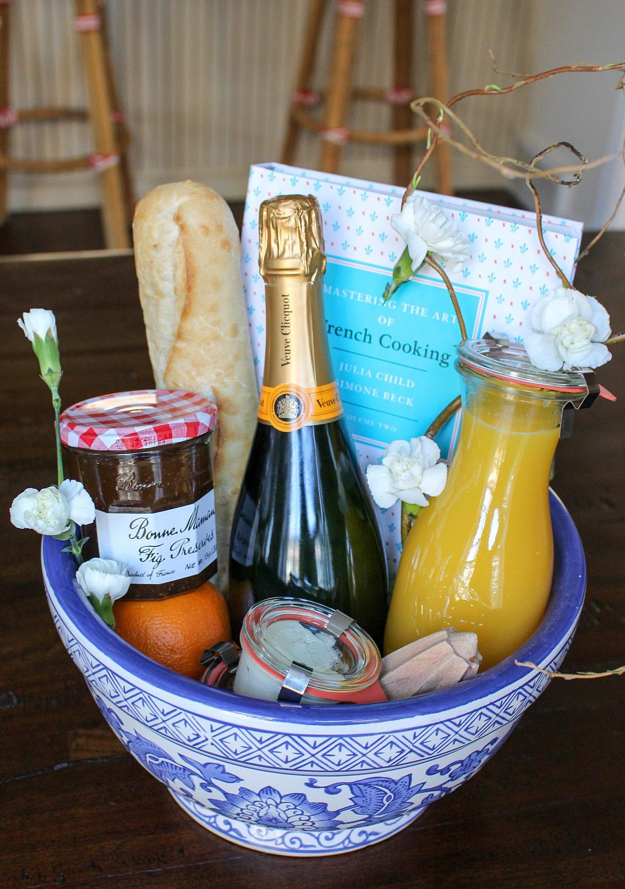 An edible gift basket inspired by the beauty of provence