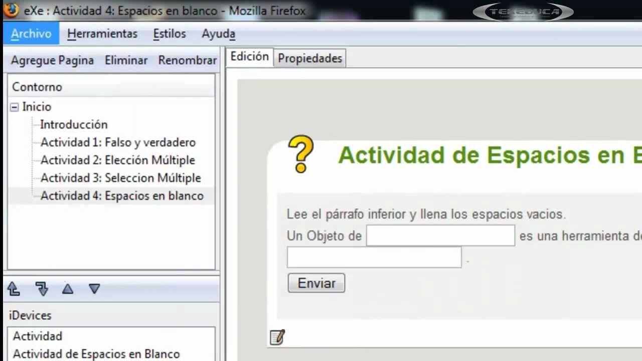 eXeLearning, por José Javier Bermúdez Hernández