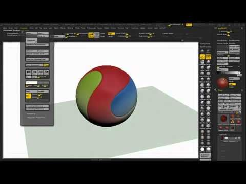 Posterize Tutorial Zbrush 4R5 Extended Version - YouTube