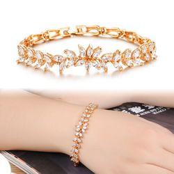 Bracelet Set Auger ircon Grain K Gold Plated Hand-Made Trinkets KS