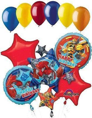Included in this bouquet 11 Balloons Total 1 35 Transformers