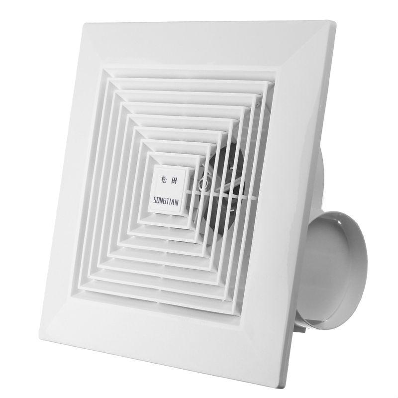 Hon Guan 6 Home Ventilation Fan Bathroom Garage Exhaust Https Www Amazon Com Dp B01nappzaj Ref Cm Sw R With Images Bathroom Fan Ceiling Fan Bathroom Ventilation Fan