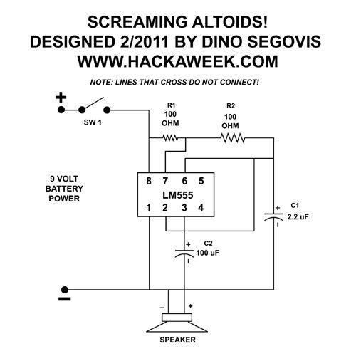 screaming altoids schematic