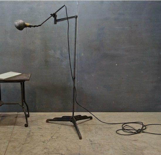 Vintage Woodward Machinists Lamp Factory 20 Lamp Vintage Lighting Work Lamp
