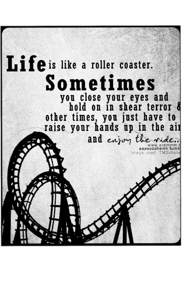 Life Is A Rollercoaster Quotes : rollercoaster, quotes, Sophia, Corrigan, Words, Roller, Coaster, Quotes,, Inspirational, Quotes
