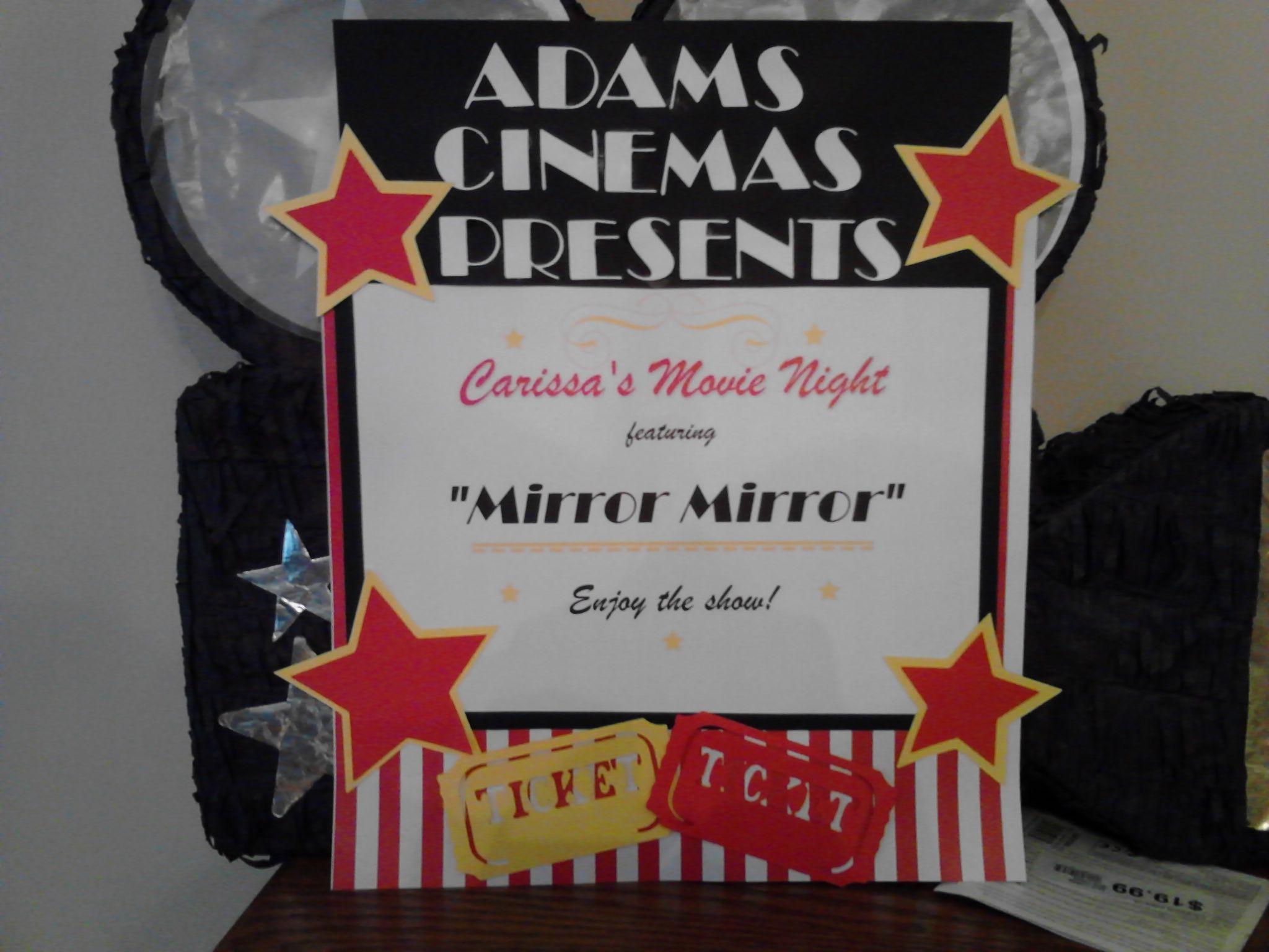 Movie Sign For Front Door School Pinterest Front Doors And School