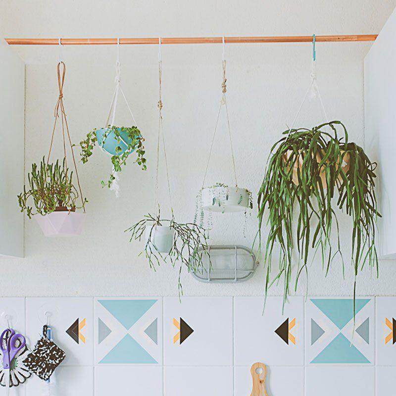 20 idées pour suspendre ses plantes | Suspendu, Dans la cuisine et ...