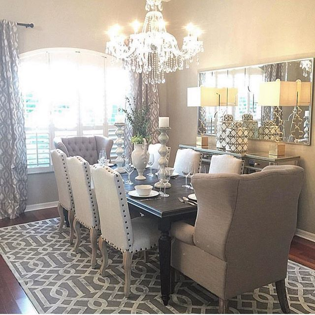 Lovely Dining Room.. I'm A Huge Fan Of Grand Caption