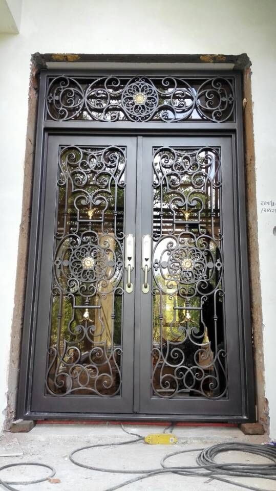 Cheap Iron Entry Door Buy Quality Iron Doors Directly From China