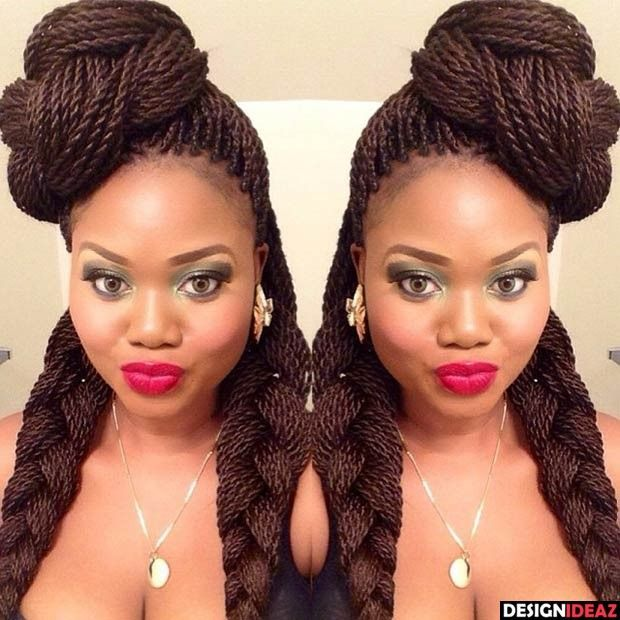 10 Awesome African American Braided Hairstyles for Long ...