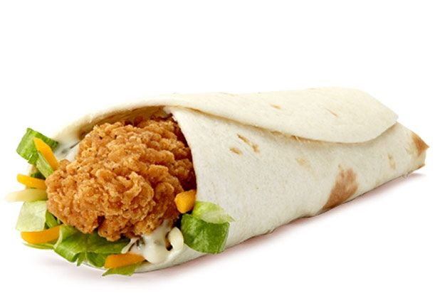 11 Copy Cat Fast-Food Recipes (Pictured: McDonalds Ranch Snack Wrap)