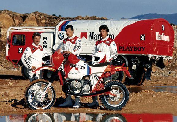 Bmw Team - Paris Dakar 1985  2923b9f977