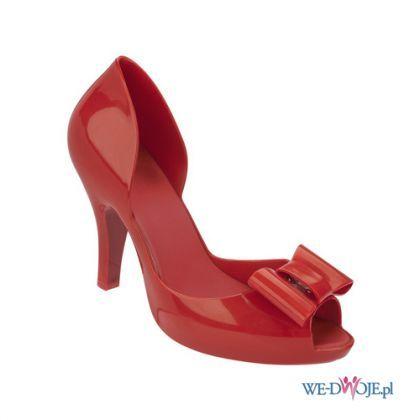 Mel By Melissa Kolekcja Wiosna Lato 2014 Czerwona Szpilka Z Kokarda Polkipl Moda Fashion Buty Shoes Shoes Spring Summer Shoes Fashion Shoes