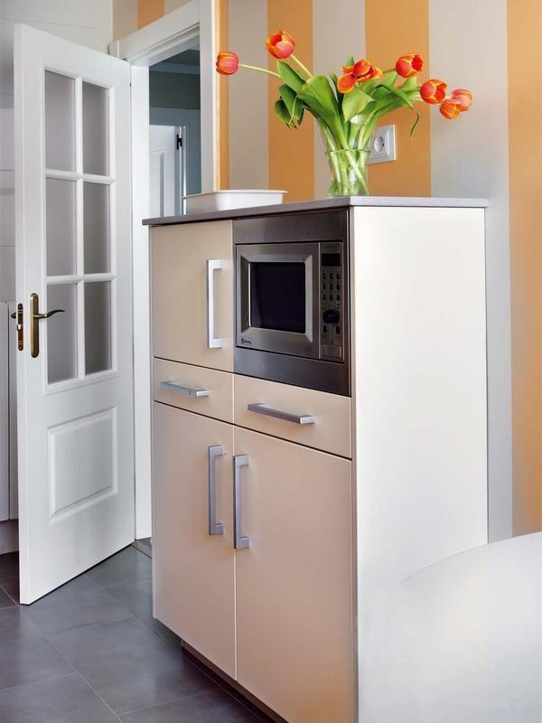 Cocina Microondas | El Mejor Sitio Para Poner El Microondas Kitchen Stuff And Kitchens