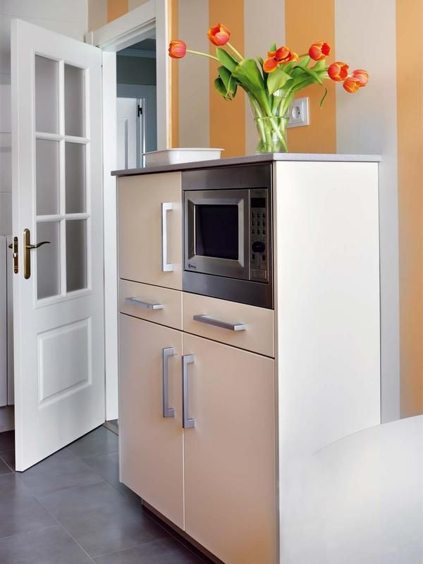 columna de horno y microondas ikea