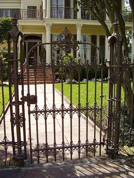 Iron Gate New Orleans Iron Garden Gates Garden Doors Wrought