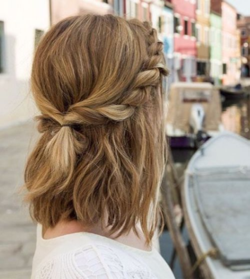 51 easy updos for short hair to do yourself solutioingenieria Images