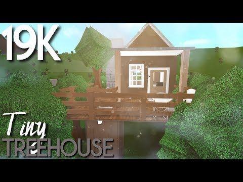 Tiny TreeHouse Roblox Bloxburg YouTube Tree house Building a