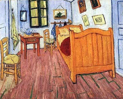 Vincent Van Gogh, Camera da letto, 1888 | Art | Pinterest | Van ...