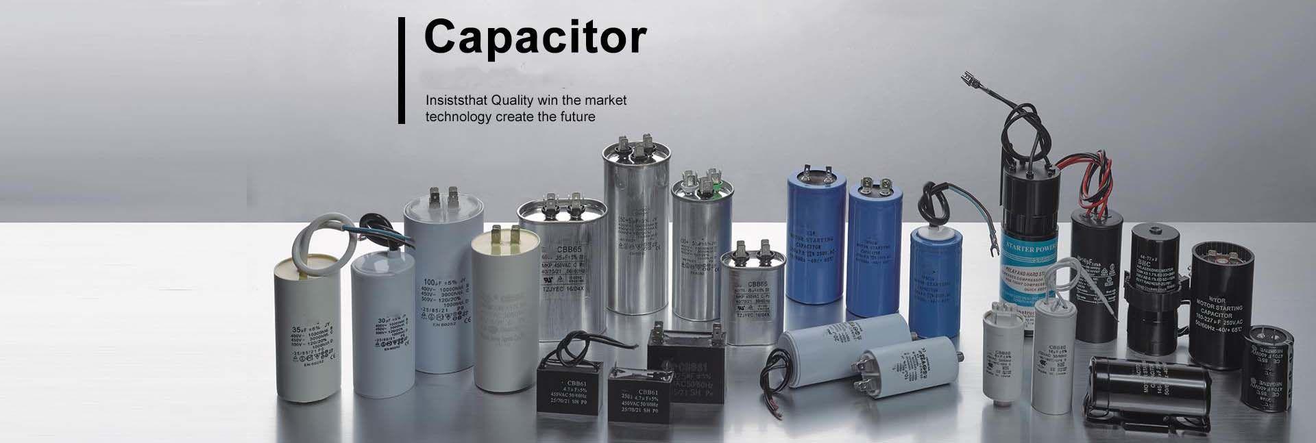 Huatao Capacitor Run Capacitor Fan Capacitor Start Capacitor Air Conditioner Capacitor Capacitor Enterprise Development Marketing Technology
