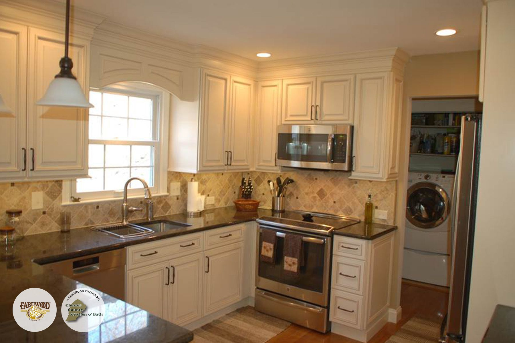 The Classic Wellington Cabinets In Ivory Fabuwood Classic The Classic  Wellington Cabinets In Ivory Fabuwood Classic From Chester County Kitchen  And Bath ...