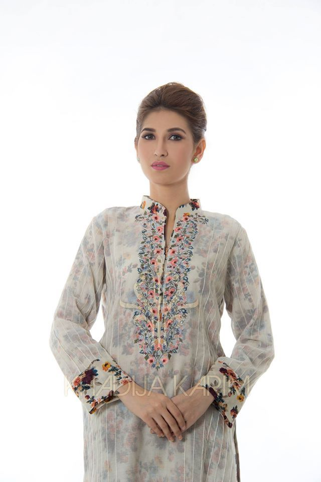 ea7880b096 Khadija Karim Winter prêt wear collection 2015-16. Find this Pin and more  on Pakistani / Indian dresses ...