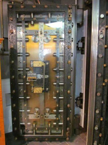 Antique Bank Vault Door York Safe Lock Co Circa 1875 Vault