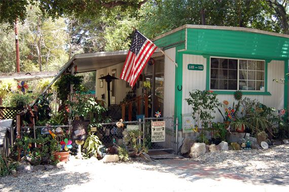 Monterey Trailer Park Los Angeles Historical Cultural Landmark 736 Located At 6411