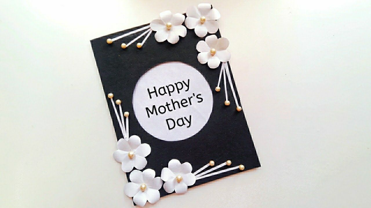 Diy Mother S Day Card Easy Mother S Day Card Making Handmade Card Fo Cards Diy Easy Mother S Day Diy Happy Mother S Day Card