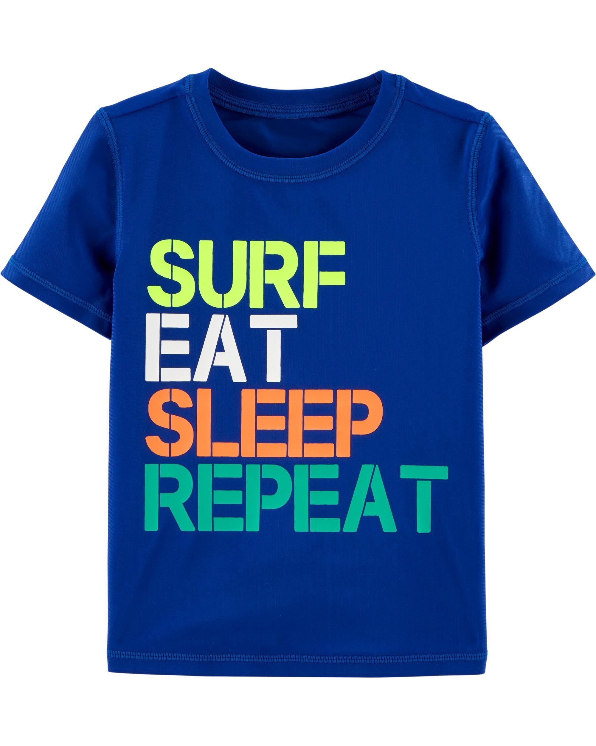 d91865121b OshKosh Surf Rashguard | Amazing | Rash guard, Boys, Kids boys