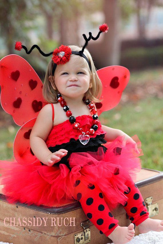 Ladybug Halloween Costume -  Tutu Cute  Ladybug Costume - Girl Toddler Baby Infant Newborn Halloween Costume on Etsy $75.88   Pinterest   Newborn halloween ...  sc 1 st  Pinterest & Ladybug Halloween Costume -