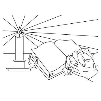 afbeeldingsresultaat voor tekening bidden kleurplaten