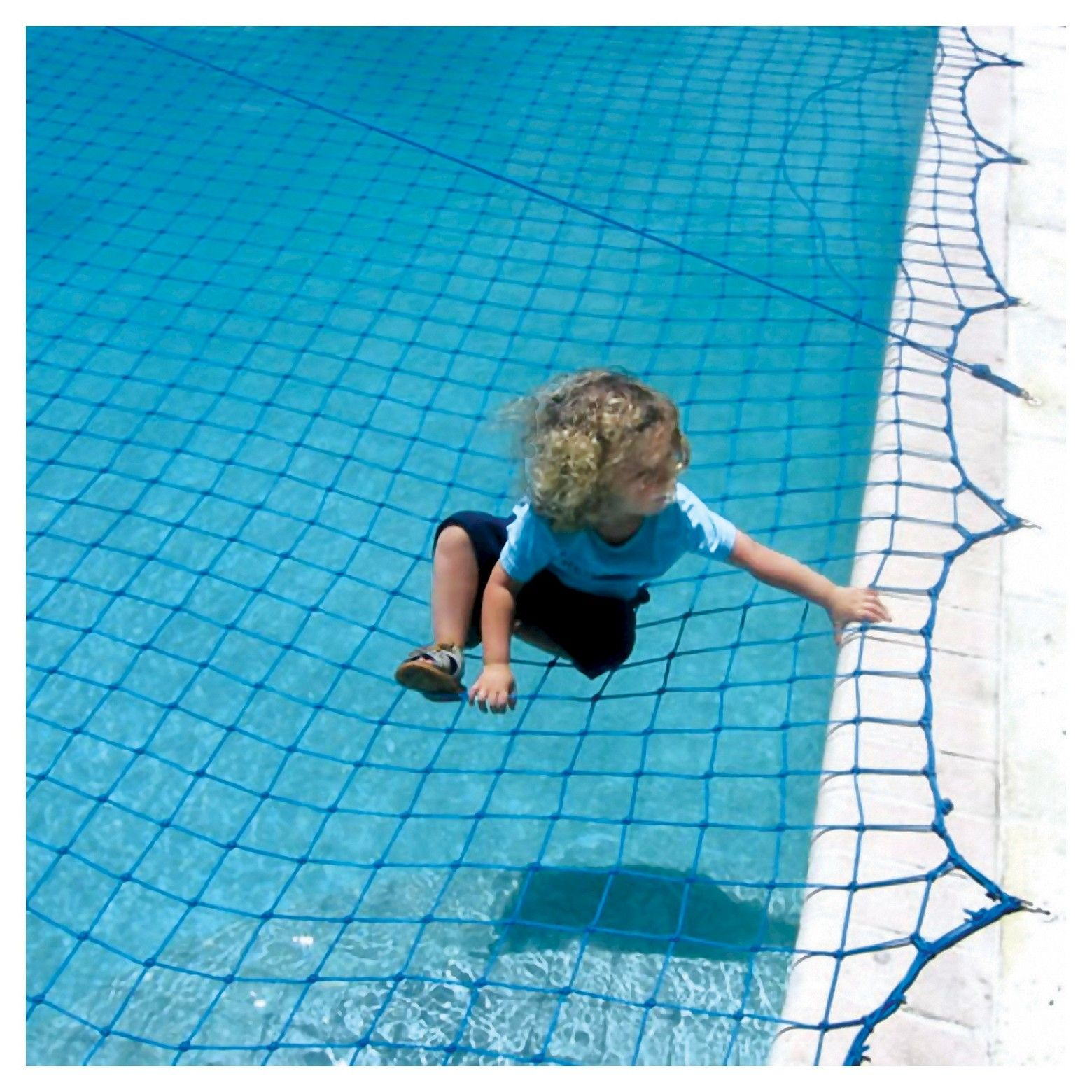 Prevent Accidents With The Water Warden Pool Safety Net For In Ground Pool This Inground Pool Safety Net Stretches Pool Safety Net Pool Safety In Ground Pools