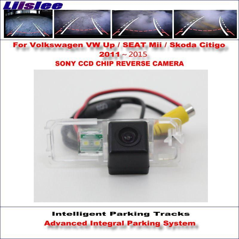 Liislee Dynamic Guidance Rear Camera For Volkswagen Vw Up Seat