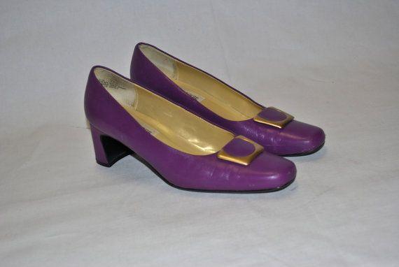 Vintage Purple Maggie Sweet Heels Size 7.5   by swiemann, $20.00