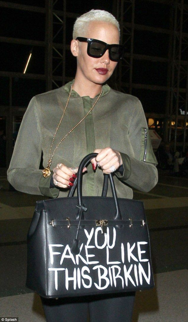 Celebrities like Amber Rose have worn her bags previously with her fun  slogans but the sty. 56c371c169ccb