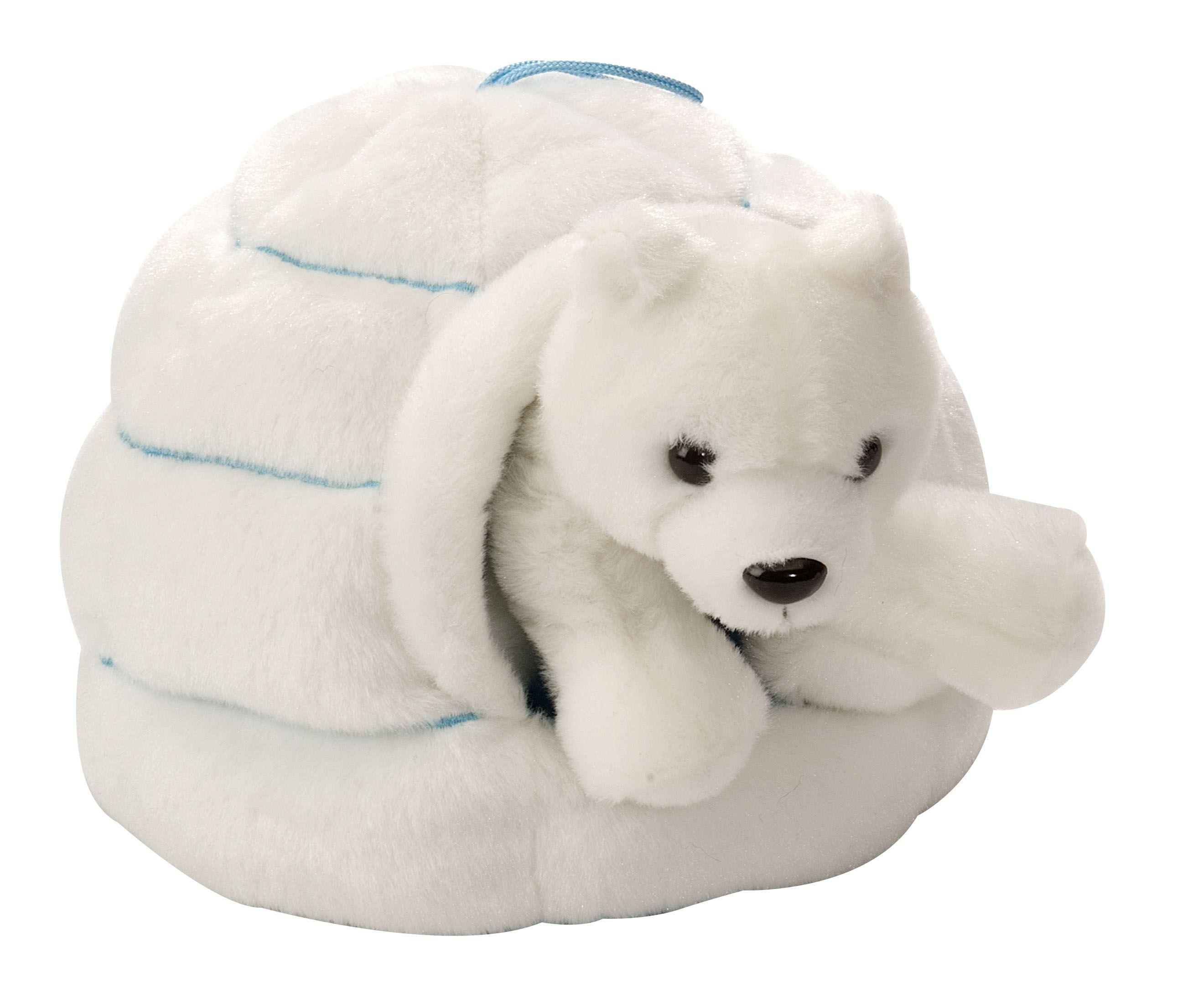 Polar Bear & Igloo Plush Polar animals, Artic animals