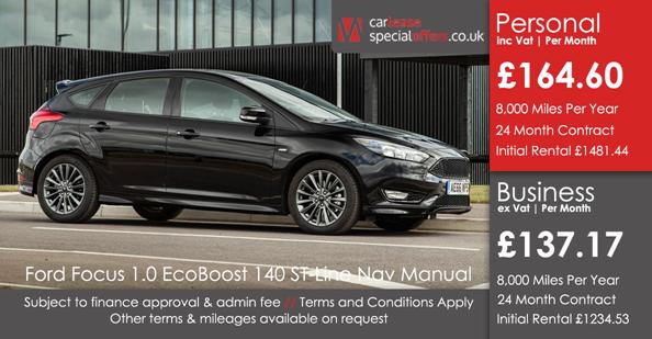 Ford Focus Hatchback 1 0 Ecoboost 140 St Line Navigation 5dr