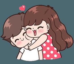 Boobib Cute Couples Vol.5 – LINE stickers | LINE STORE