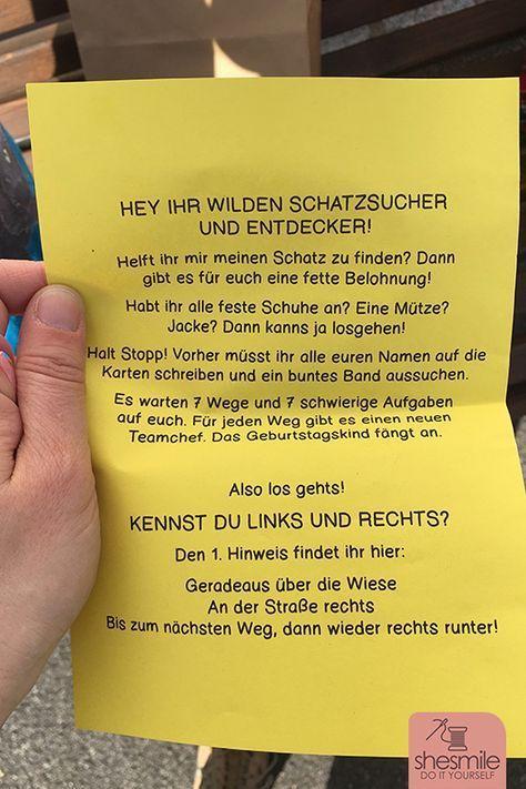Photo of Eine Schatzsuche zum 6. Kindergeburtstag