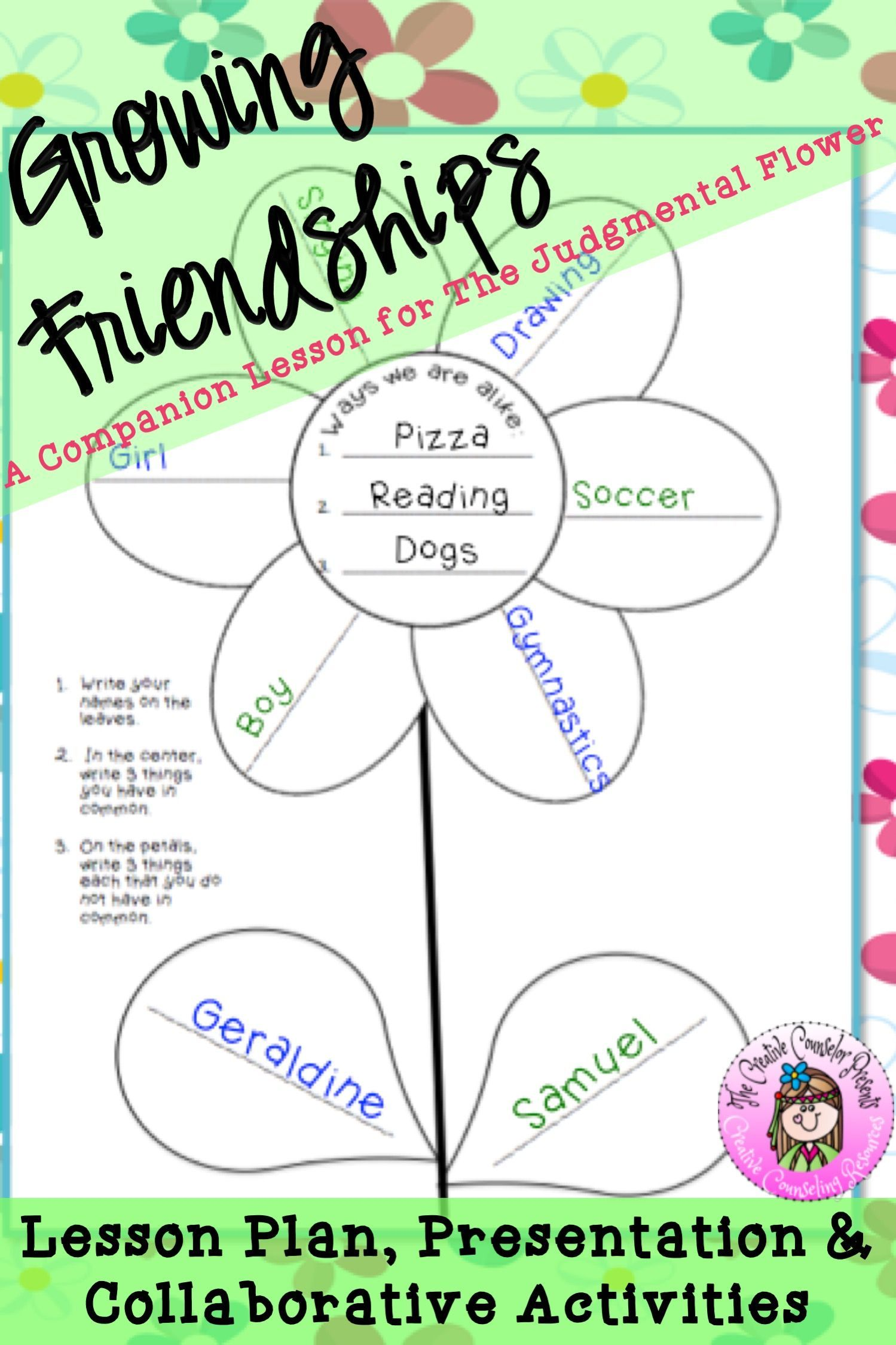 Growing Friendships With Flower Power Amp The Judgmental