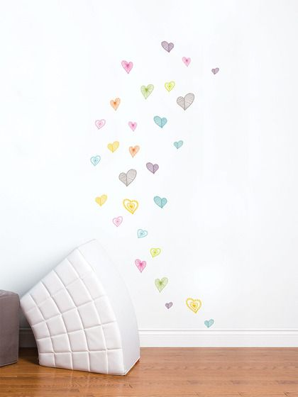 Light Hearts  Wall Decal 2 Pack by Mia & Co on Gilt.com