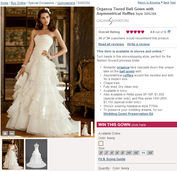 alternate bridal gown fashions