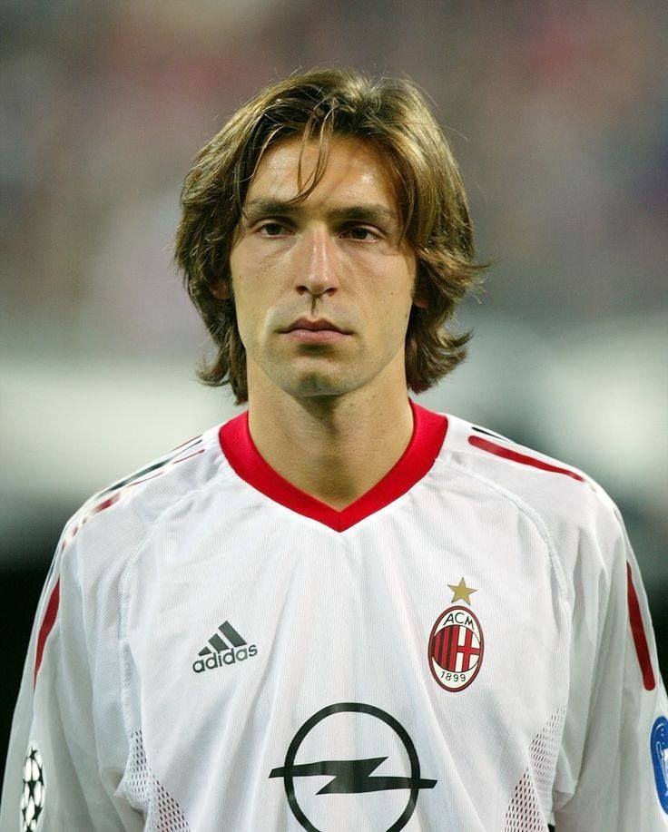 Andrea Pirlo-such a baby then!