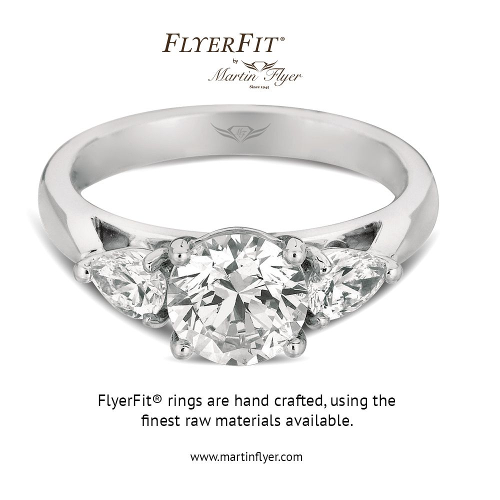FlyerFit Classic Solitaire Engagement Ring